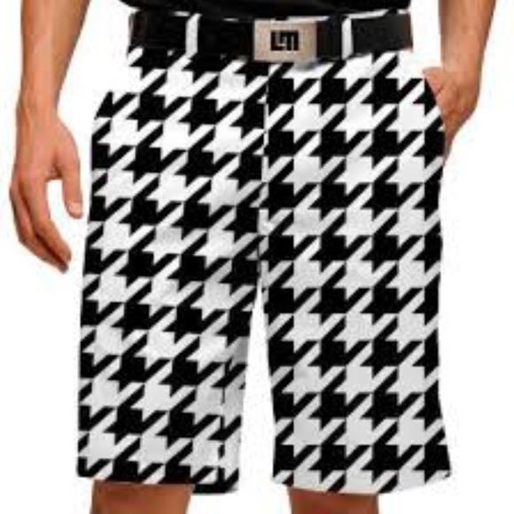 c6ede7965a Loudmouth Shorts   Mens Golf Oakmont Houndstooth 36   Poshmark